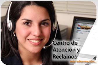 CENTRO DE ATENCION Y RECLAMOS INFORMACION